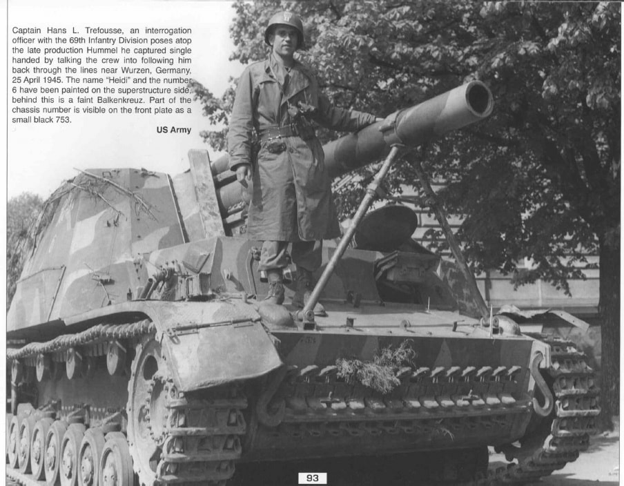 Hans_L._Trefousse_with_Hummel_Self-propelled_gun
